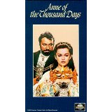 Anne of the Thousand Days 1969(Used VHS)145 Min.(color)