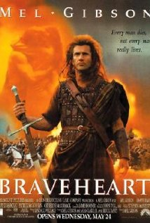 Braveheart 1995(Used VHS)177 Min.(color)