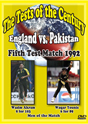 England vs Pakistan 5th Test 1992 120 Min.(color)