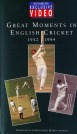 Great Moments in English Cricket 1952-1994 90Min (b&w/color)(R)