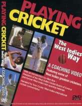 Playing Cricket the West Indies Way 75 Mins (color) PAL VHS