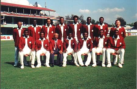 West Indies Cricket Team Photo 1994