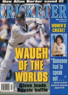 Cricketer Magazine Australian Publication (1992-1994)