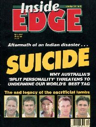 Inside Edge Australian Cricket Magazine(1993-1998)