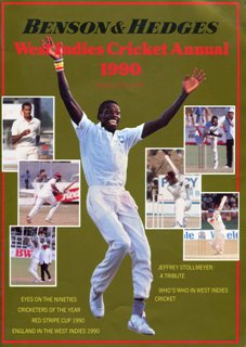 West Indies Cricket Annuals 1987-1990